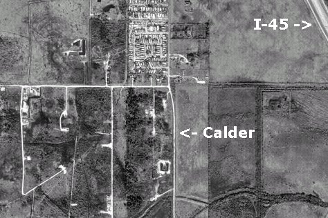 Killing Fields Satellite Image